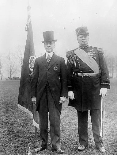 Newton Baker and General Hugh Scott, circa 1916