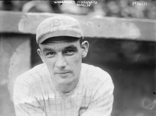 Rube Marquard as he was when he played for the Brooklyn Robins