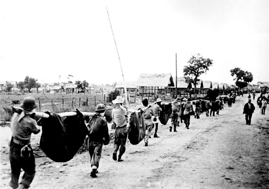 POW burial detail at Camp O¹Donnell just after the Bataan Death March