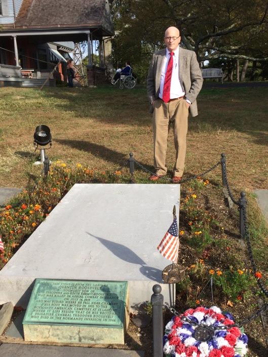 Quentin Roosevelt memorial, Sagamore Hill: 29 October 2016