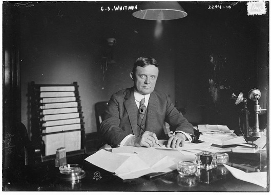 Governor Charles Seymour Whitman spoke at the 13th Armory in Brooklyn on 27 December 1918