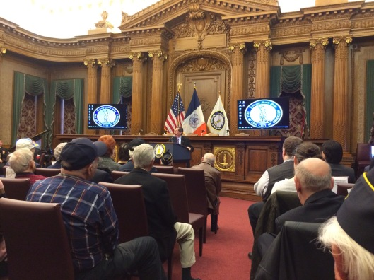 Brooklyn Borough Historian Ron Schweiger spoke about life in the borough as it was in 1941.